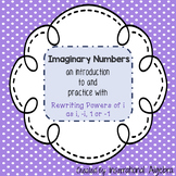 Imaginary Numbers - An intro to rewriting powers of i as i