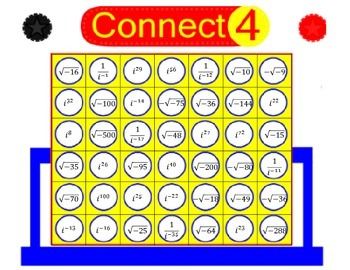 Imaginary Numbers Connect Four