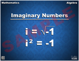 Imaginary Numbers Math Poster