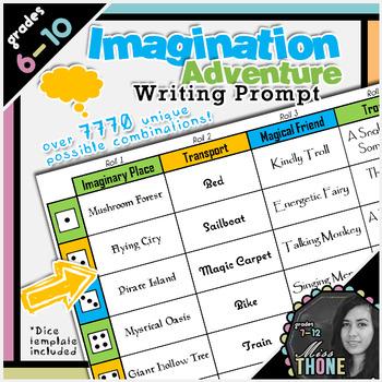 Imagination Adventure Writing Prompt