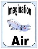 Imagination Air Boarding Passes