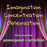 Imagination, Concentration, Observation Lesson and Activities