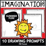 Imagination Drawing Prompts Summer Fun