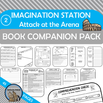 Imagination Station 2: Attack at the Arena Novel Study Christian Chapter Book