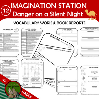Imagination Station 12: Danger on a Silent Night Novel Study Christian Chapter