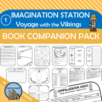 Imagination Station: Voyage with the Vikings Novel Study Christian Chapter Book