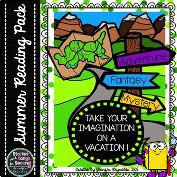 Imagination Vacation Reading Pack {FREE}