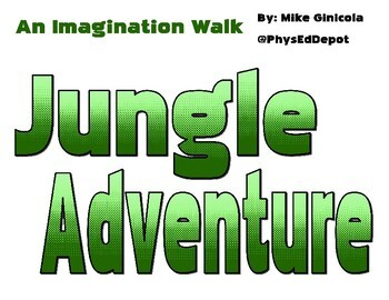 Imagination Jungle Walk Signs for K-3 Movement Adventures in PE