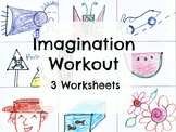 Imagination Workout Creativity Test Drawing Sub Art Lesson