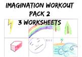 Imagination Workout Pack 2 Creativity Test Drawing Sub Art