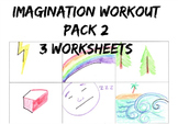 Imagination Workout Pack 2 Creativity Test Drawing Sub Art