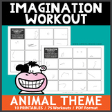 Animal Theme Imagination Workout Printables