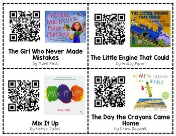 Imagination and Creativity QR Code Read Alouds