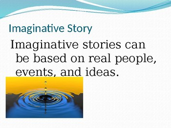 Imaginative Essay:  100 Word Story