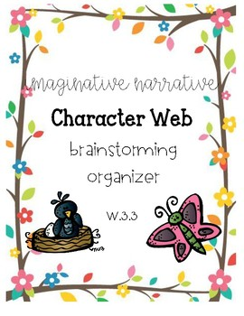 Imaginative Narrative Brainstorming and Character Web