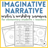 Imaginative Narrative Writing Resources for Elementary Students + Teachers
