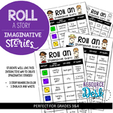 Imaginative Story Writing - Roll a Story Station and Compo