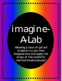 Imagine-A-Lab - using the steps of the scientific method in a creative way