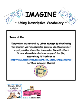 Imagine - Descriptive Writing