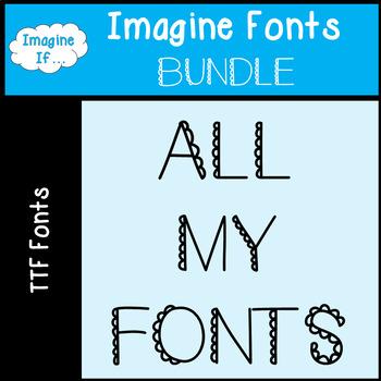 Imagine Fonts-Bundle