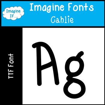Imagine Fonts-Cahlie