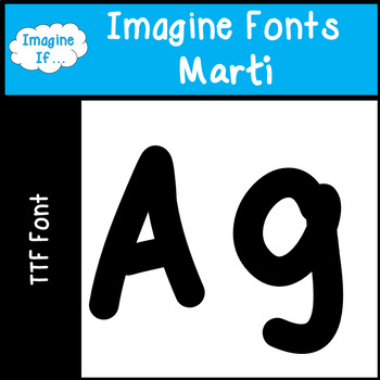 Imagine Fonts-Marti