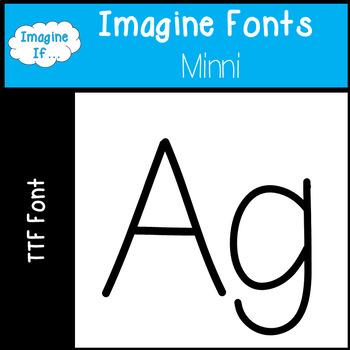 Imagine Fonts-Minni