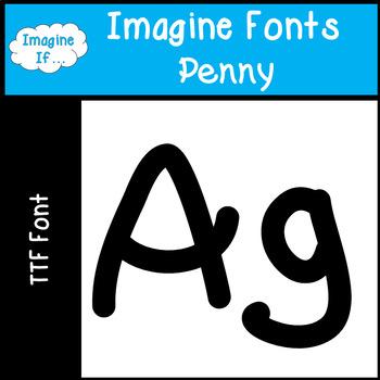 Imagine Fonts-Penny