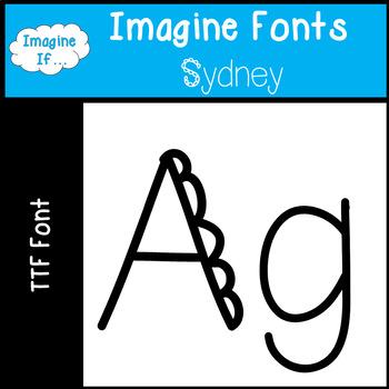 Imagine Fonts-Sydney