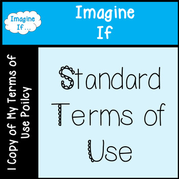 Imagine If Terms of Use