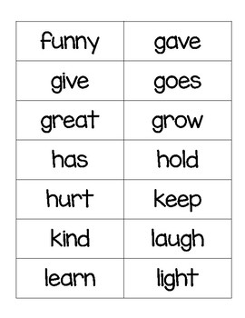 Imagine It 2nd grade High Frequency Flashcards