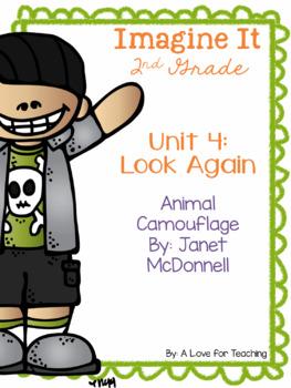 Imagine It Animals in Camouflage Grade 2 {Editable}