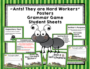 "Imagine It ""Ants!They Are Hard Workers""  Unit 2.1Reading F"