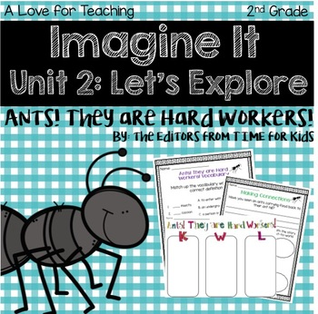 Imagine It Ants! They are Hard Workers! Grade 2 {Editable}