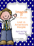 Imagine It April and Her Family Grade 2 {Editable}
