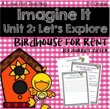Imagine It Birdhouse for Rent Grade 2 {Editable}