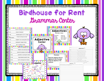"Imagine It ""Birdhouse for Rent""  Unit 2.4 Reading Focus Wall-Grammar Game"