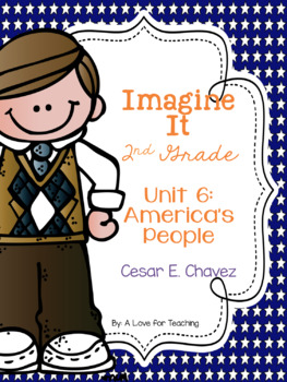 Imagine It Cesar E Chavez Grade 2 {Editable}