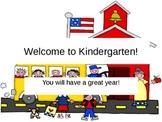 Imagine It! Getting Started Lessons 1 - 10 Kindergarten Po
