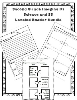 Imagine It Gr 2 Leveled Reader Activities Bundle