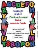 Imagine It Grade 2 Phonics and Grammar Activities Unit 6 America's People