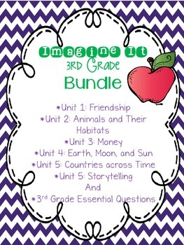 Imagine It Grade 3 Bundle {Editable}