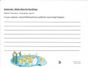 Make Way for Ducklings:  Imagine It Grade 3