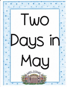 Two Days in May:  Imagine It, Grade 3