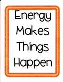 Energy Makes Things Happen:  Imagine  It Grade 4