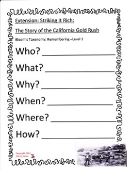 Striking It Rich: The Story of the California Gold Rush:  Imagine It Grade 4