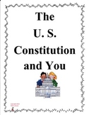 The U. S. Constitution and You by Syl Sobel Imagine It Grade 4
