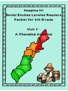 Imagine It Grade 4 Unit 3 SS Leveled Reader Activities