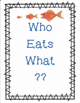 Who Eats What:  Imagine It - Grade 4