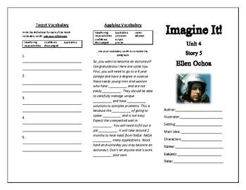 Imagine It Grade 5 Ellen Ochoa